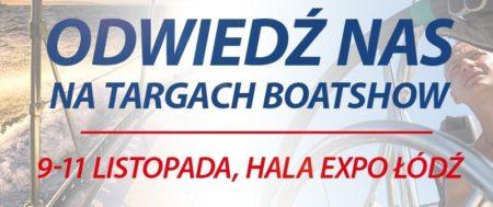 Odwiedź nas na Boat Show Łódź 2017. Jesteśmy na stoisku 102